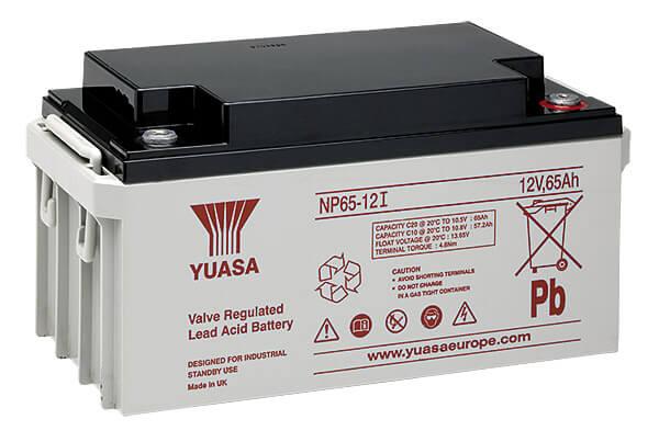 Yuasa NP65-12I 12V 65Ah Blei-Akku / AGM Batterie