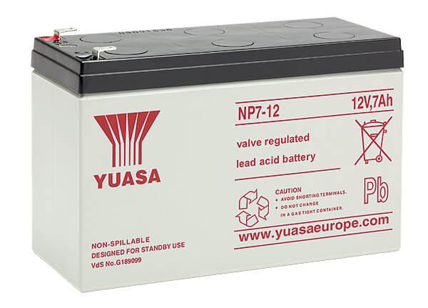 Yuasa NP7-12 12V 7Ah Blei-Akku / AGM Batterie