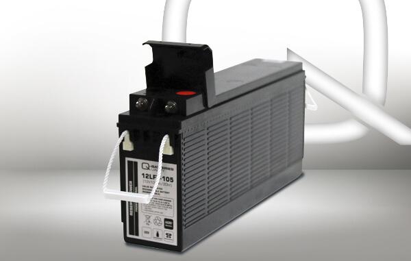 Q-Batteries Frontterminal 12LFT-105 12V 108Ah Blei-Akku / AGM Batterie