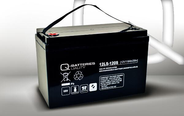 Q-Batteries 12LS-120S 12V 118Ah AGM Akkumulator