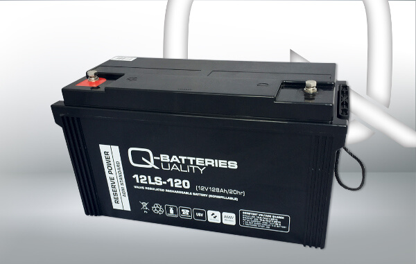 Q-Batteries 12LS-120 12V 128Ah AGM Batterie Akku