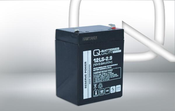 Q-Batteries 12LS-2.9 12V 2,9Ah AGM Batterie Akku