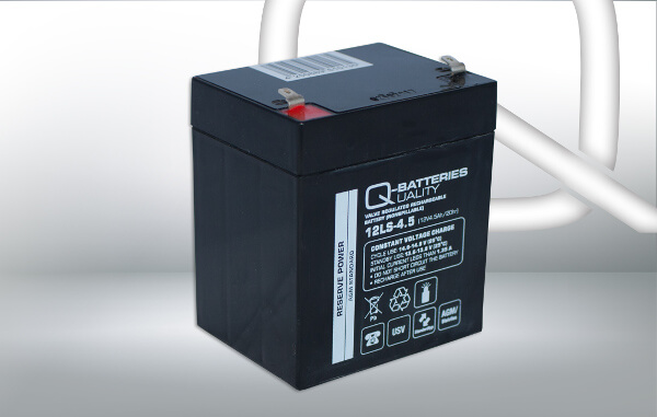 Q-Batteries 12LS-4.5 12V 4,5Ah AGM Batterie Akku