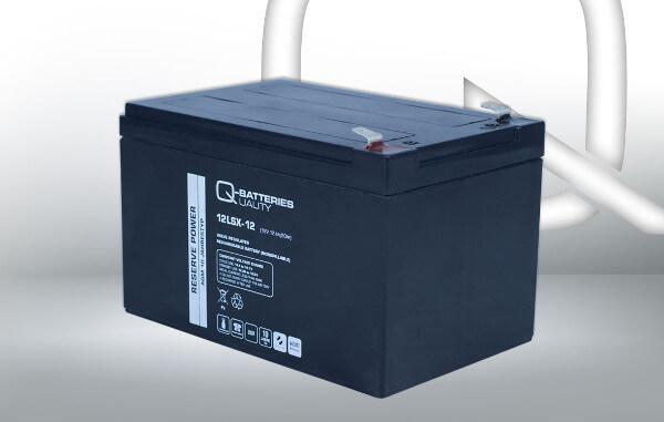 Q-Batteries 12LSX-12 12V 12Ah AGM Batterie Akku Longlife