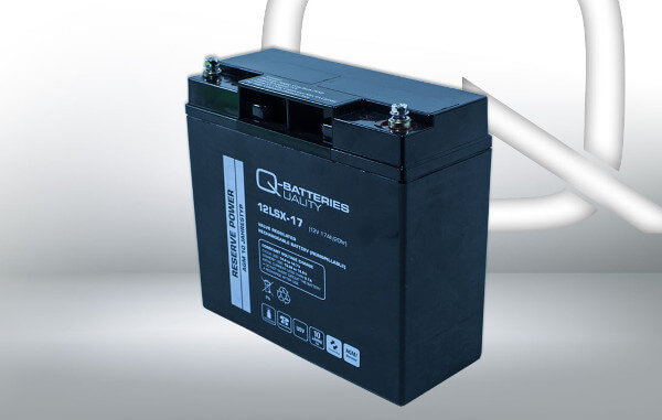 Q-Batteries 12LSX-17 12V 17Ah AGM Batterie Akku Longlife