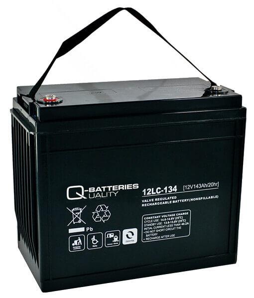 Q-Batteries 12LC-134 12V 143Ah Blei-Akku / AGM Batterie Zyklentyp