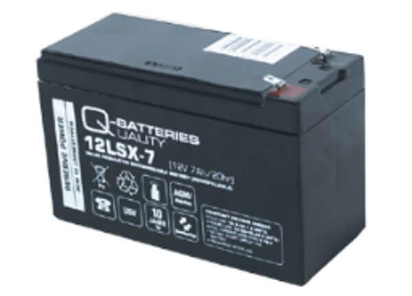 Q-Batteries 12LSX-7 12V 7Ah AGM Batterie Akku Longlife