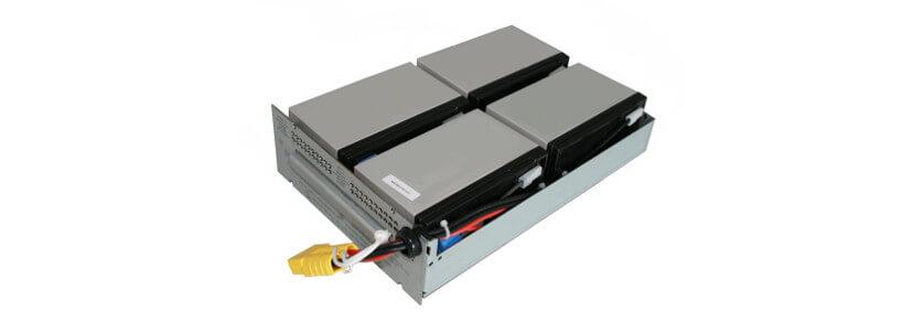 Batteriekit für APC USV RBC132 / Smart-UPS SMT1000RMI2U komplett vormontiert
