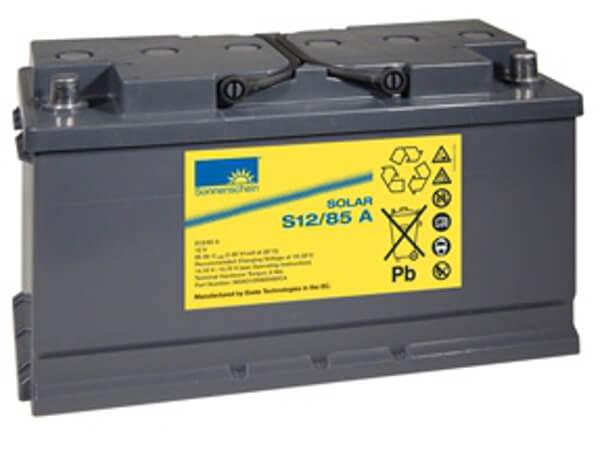 Sonnenschein Solar S12/85 A 12V 85Ah Blei Gel-Batterie