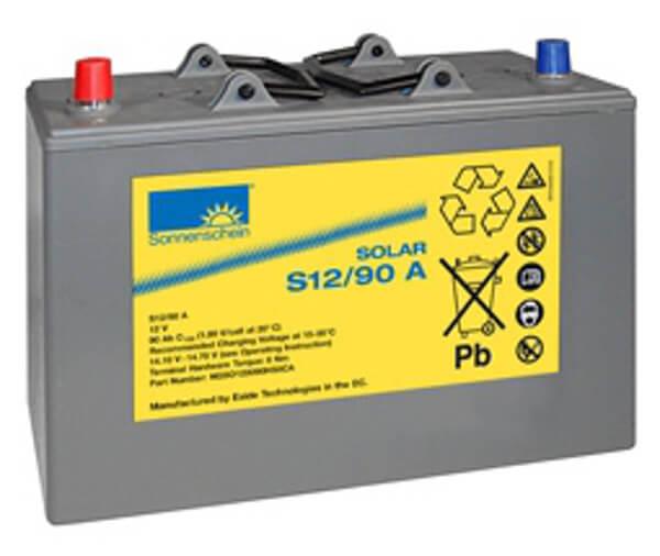 Sonnenschein Solar S12/90 A 12V 90Ah Blei Gel-Batterie
