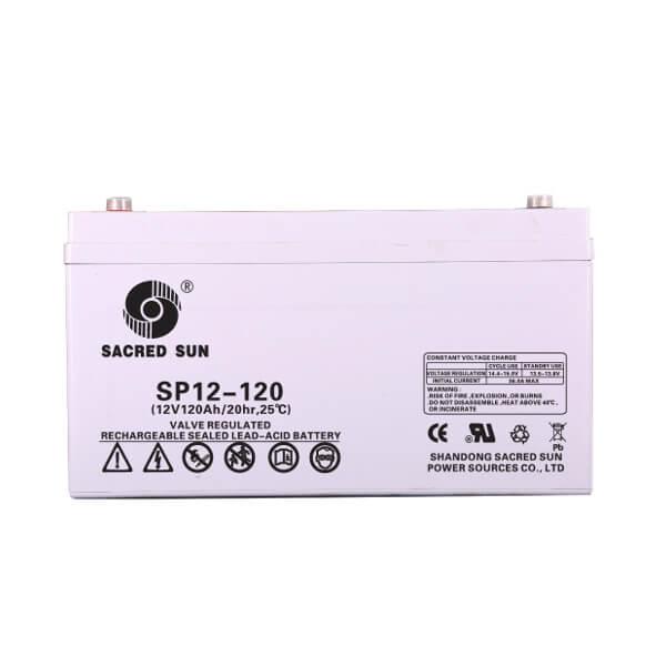 Inbatt SP12-120 AGM Batterie 12V 120Ah Long Life Akku