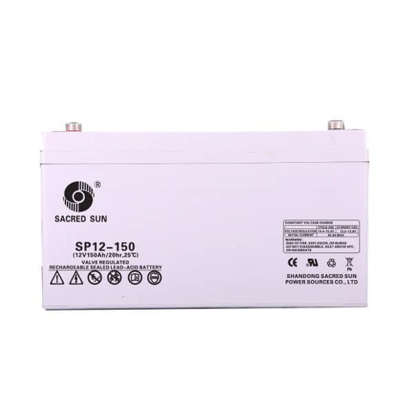 Inbatt SP12-150 AGM Batterie 12V 150Ah Long Life Akku