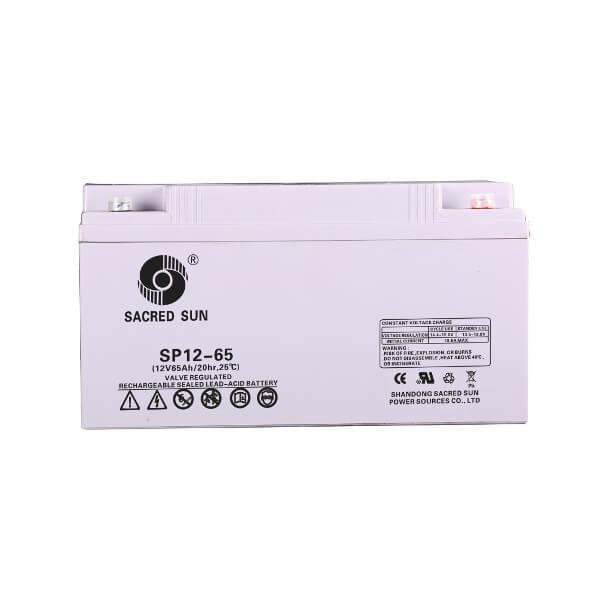 Inbatt SP12-65 AGM Batterie 12V 65Ah Long Life Akku