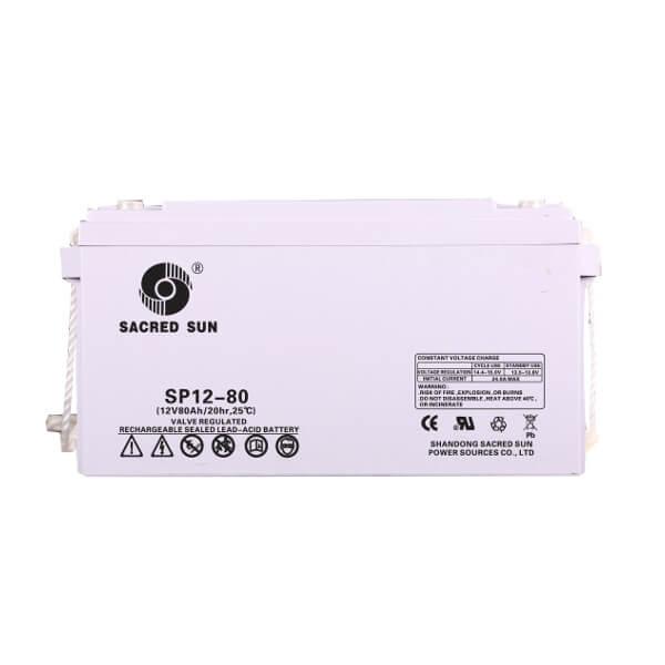 Inbatt SP12-80 AGM Batterie 12V 80Ah Long Life Akku