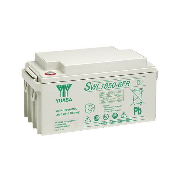 Yuasa SWL1850-6FR 6V 148Ah Blei-Akku / AGM Batterie