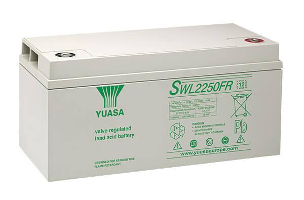 Yuasa SWL2250FR 12V 86Ah Blei-Akku / AGM Batterie