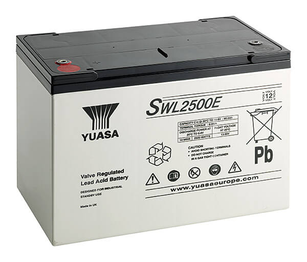 Yuasa SWL2500E 12V 93,6Ah Blei-Akku / AGM Batterie