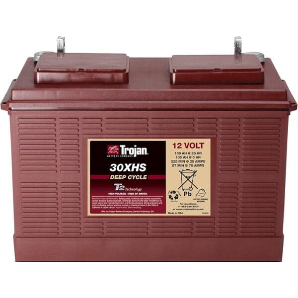 Trojan 30XHS 12V 130Ah Deep Cycle Batterie