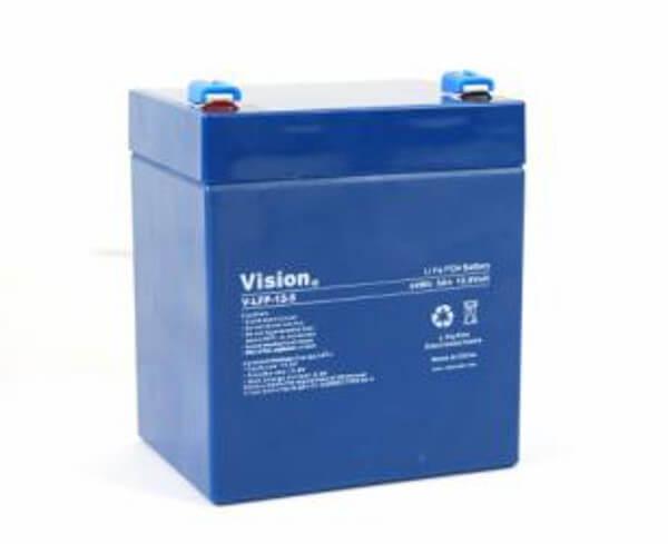 VISION LFP124.5T LiFePo4  Lithium Akku - 12V 4,5Ah