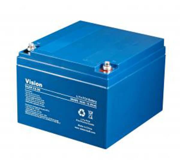 VISION LFP1230 LiFePo4  Lithium Akku - 12V 30Ah