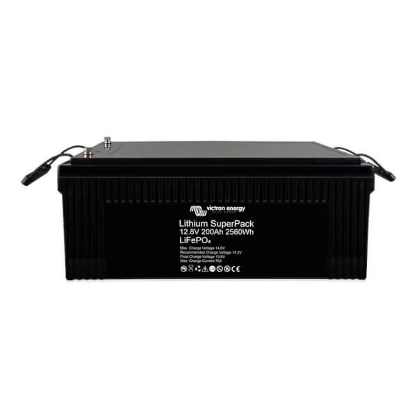 Victron Energy Lithium SuperPack 12.8V 200Ah LiFePO4 Batterie