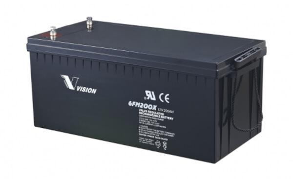 Vision 6FM200-X 12V 200Ah Blei-Akku / AGM Batterie