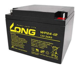 Kung Long WP24-12 12V 24Ah Blei-Akku / AGM Batterie mit VdS-Zulassung