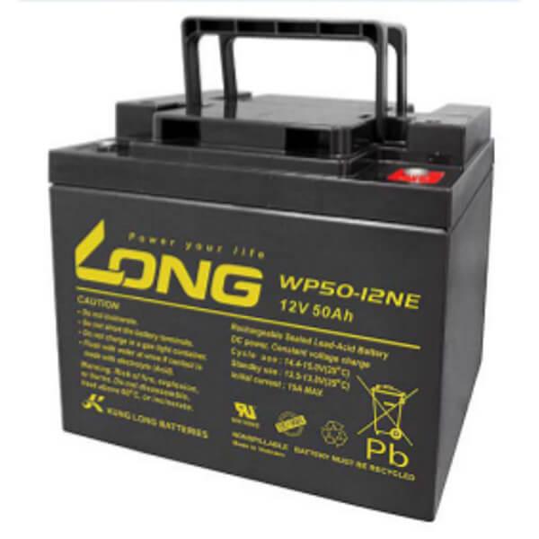 Kung Long WP50-12NE 12V 50Ah Blei-Akku / AGM Batterie Zyklenfest