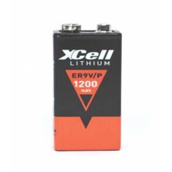 XCELL ER9V/P 9V Lithium-Block 1200mAh
