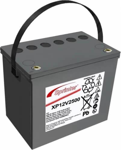 Exide Sprinter XP12V2500 12V 69,5Ah Bleiakku Hochstrom