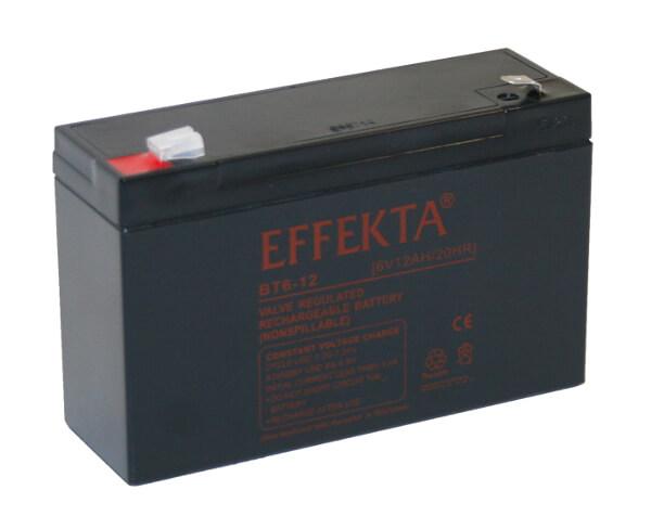Effekta BT6-12 6V 12Ah Blei-Akku / AGM Batterie