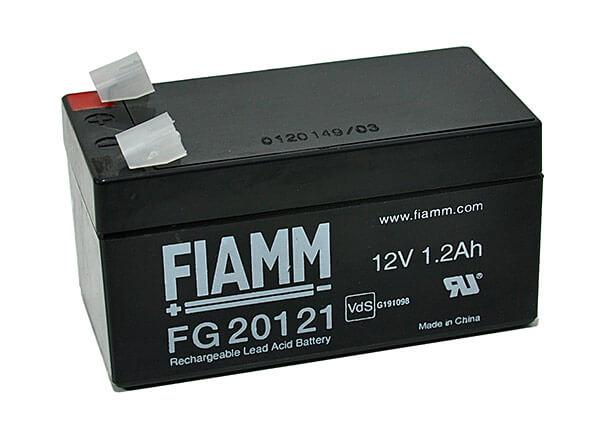 Fiamm FG20121 12V 1,2Ah Blei-Akku / AGM Batterie