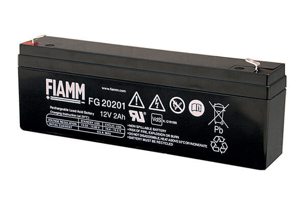 Fiamm FG20201 12V 2,0Ah Blei-Akku / AGM Batterie