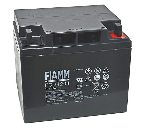 Fiamm FG24204 12V 42Ah Blei-Akku / AGM Batterie
