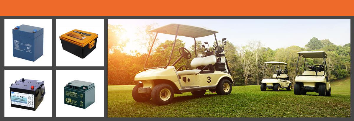 Golf Cart Akkus