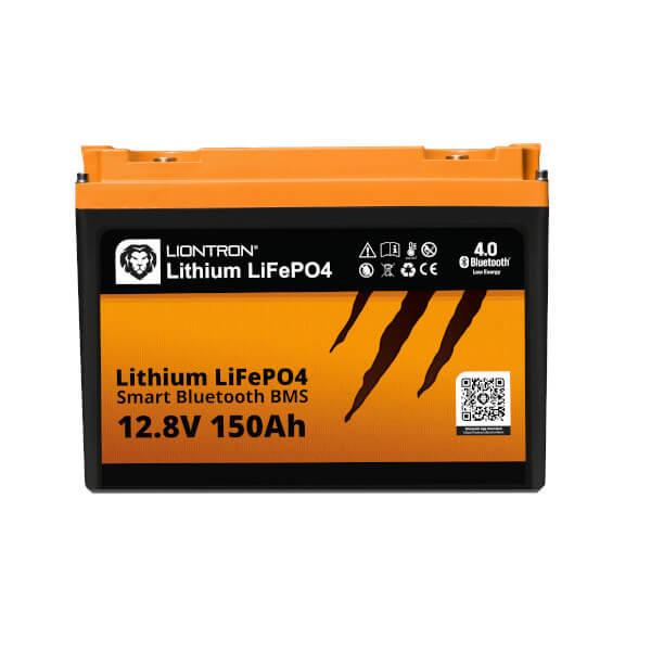 LIONTRON LiFePO4 12,8V 150Ah Lithium Batterie Arctic