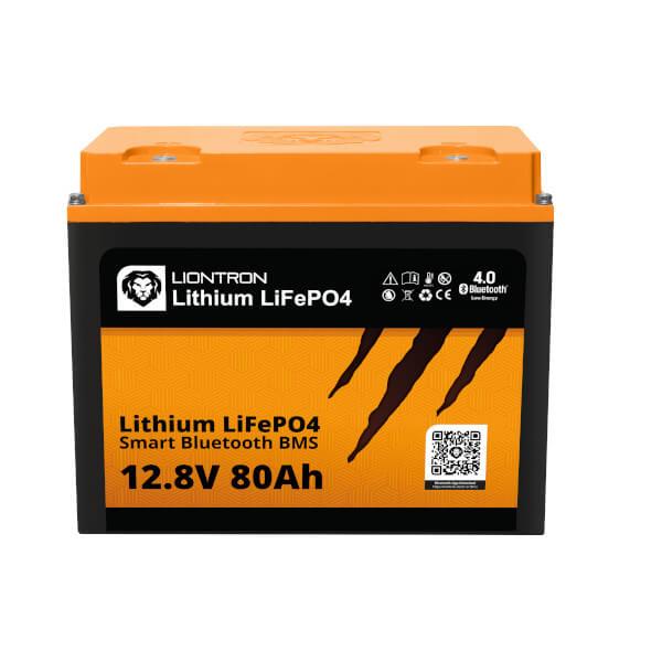 LIONTRON LiFePO4 12,8V 80Ah Lithium Batterie