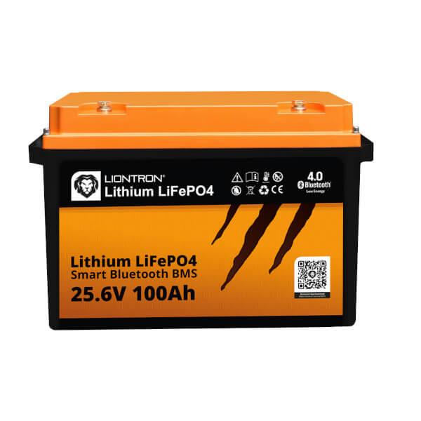 LIONTRON LiFePO4 25,6V 100Ah Lithium Batterie
