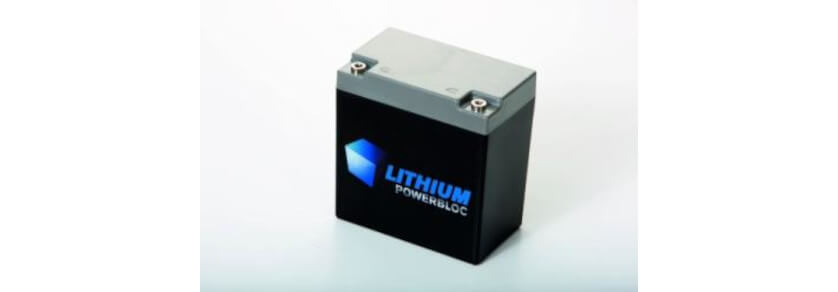 Lithium Powerbloc Akkus