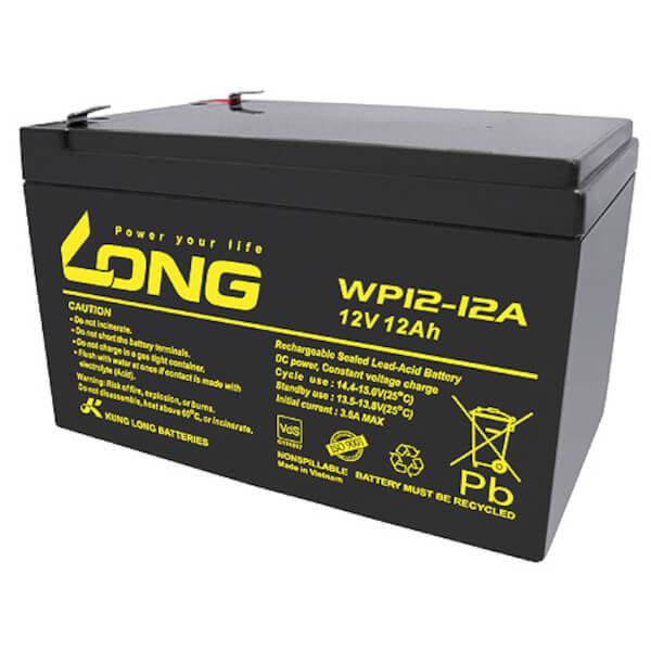 Kung Long WP12-12A/F1 12V 12Ah Akku mit VdS-Zulassung