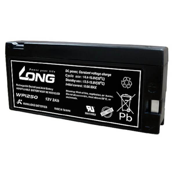 Kung Long WP1250 12V 2Ah Blei-Akku / AGM Batterie
