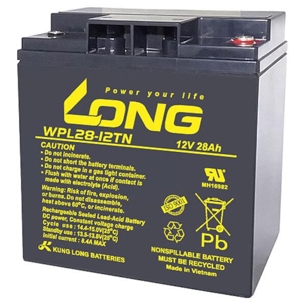 Kung Long WPL28-12TN 12V 28Ah Akku AGM Longlife