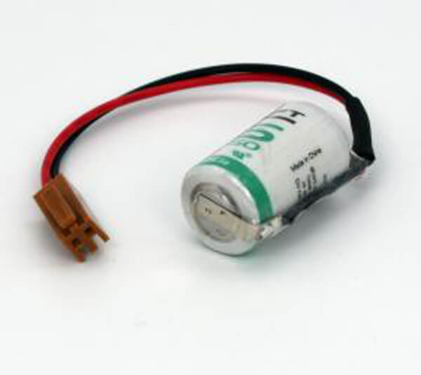 Saft Lithium Spezialbatterie BELSAFMICRE-XF 3,6V / 1200mAh mit Stecker