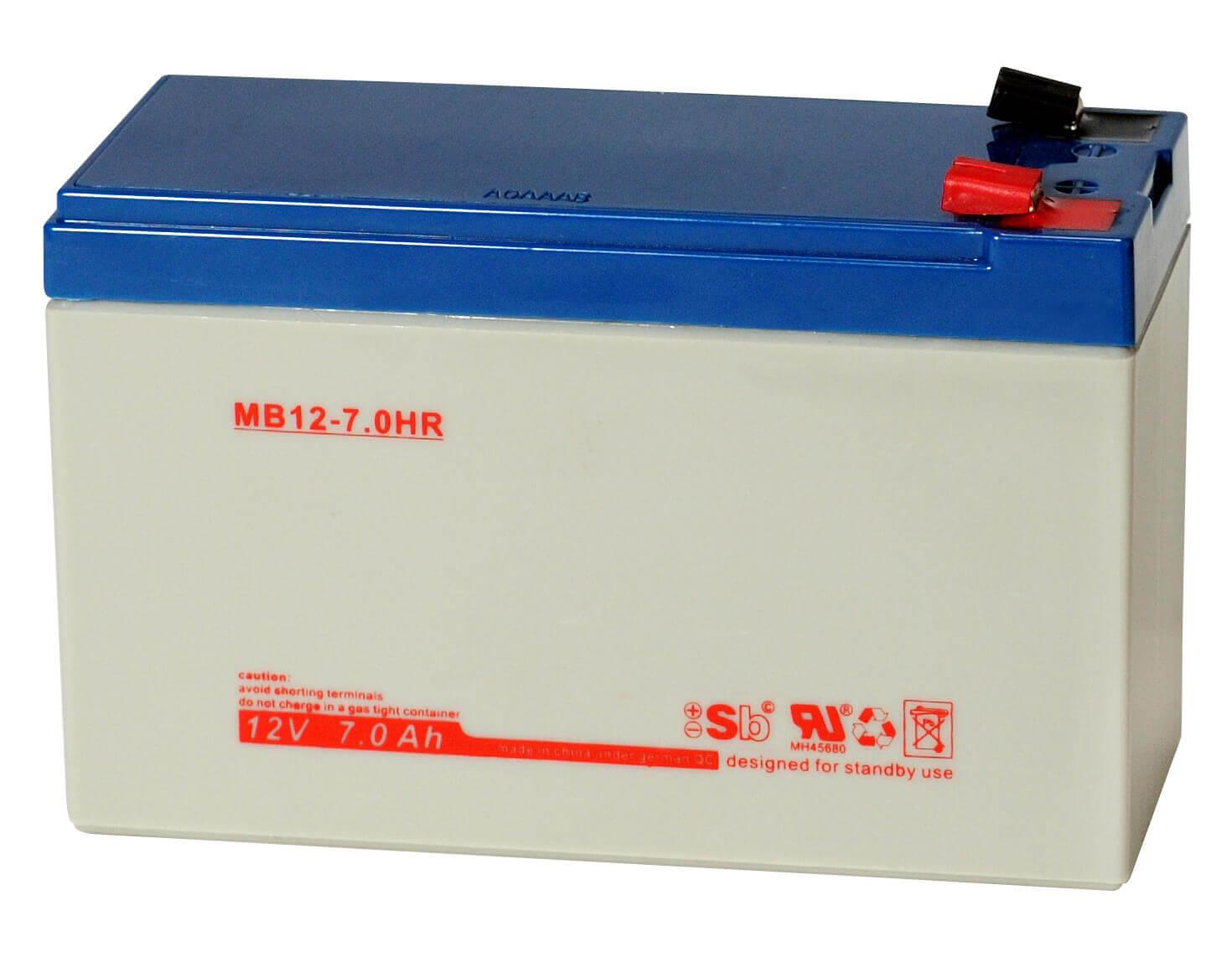 Sun Battery MB12-7HR 12V 7,6Ah Bleiakku
