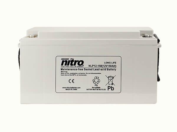 nitro NLP12-150 Batterie / Akku - 12V 150Ah AGM Long Life