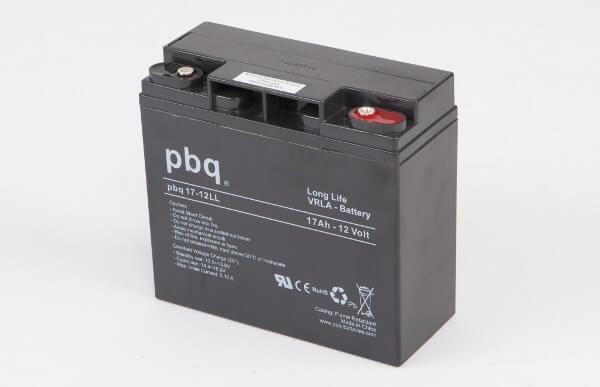 pbq L17-12 / 17-12LL AGM Bleiakku - 12V 17Ah Long Life-Batterie