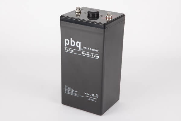 pbq SC-300 AGM Bleiakku - 2V 300Ah Single Cell Monoblock