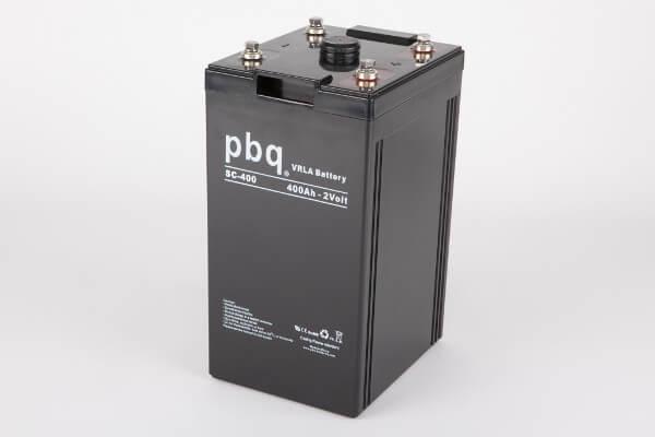 pbq SC-400 AGM Bleiakku - 2V 400Ah Single Cell Monoblock