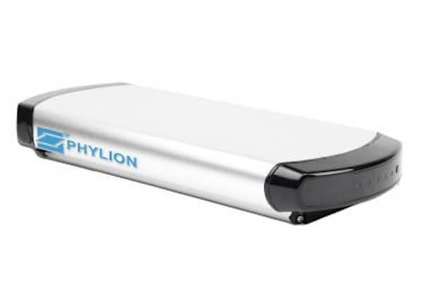 Phylion Lithium-Ionen E-Bike Akku WALL-E für Pedelec 37V 12Ah 2-Polig