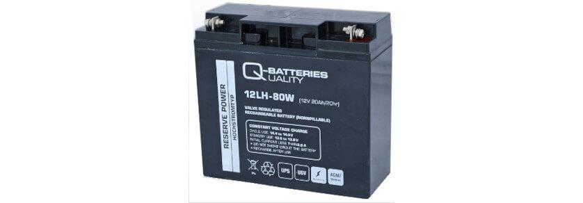 Q-Batteries Akkus Hochstrom